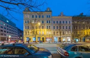 byty Korunní Praha