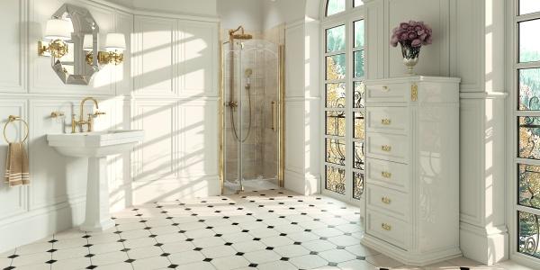 sprchové kouty, WC tlačítko, hydromasáže, akční nabídka, 3D návrh, invalidní program